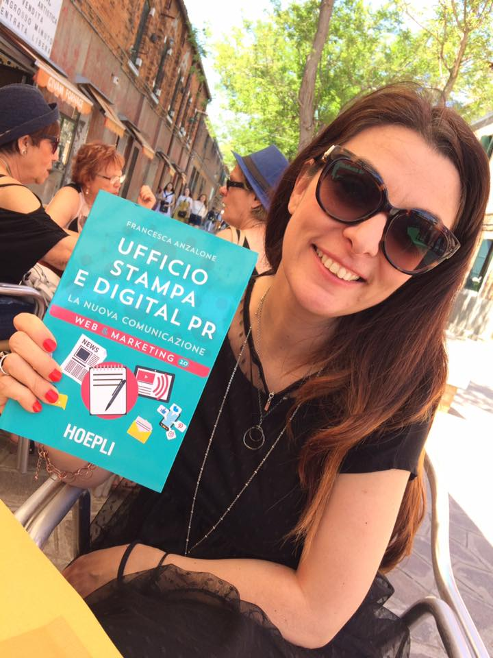 Francesca Anzalone - Ufficio stampa e digital PR