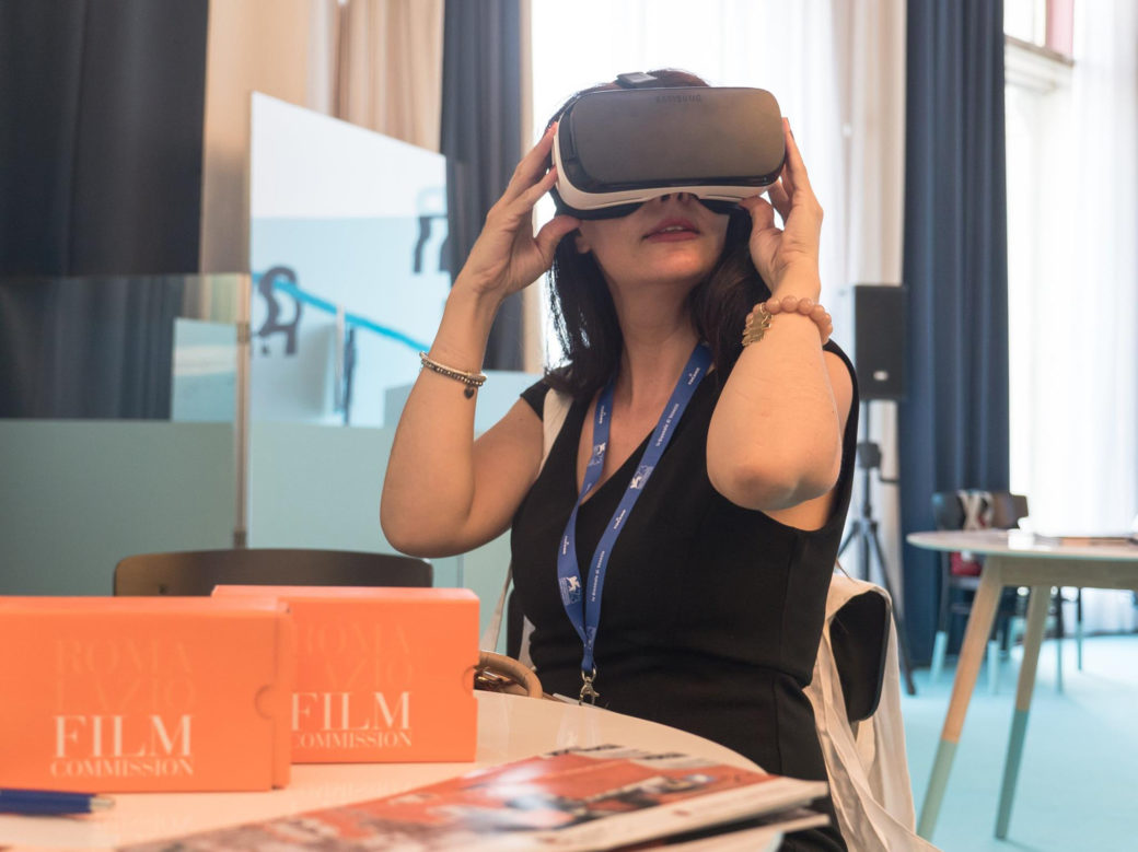 Francesca Anzalone 73 Mostra Internazionale del Cinema di Venezia, Virtual Reality