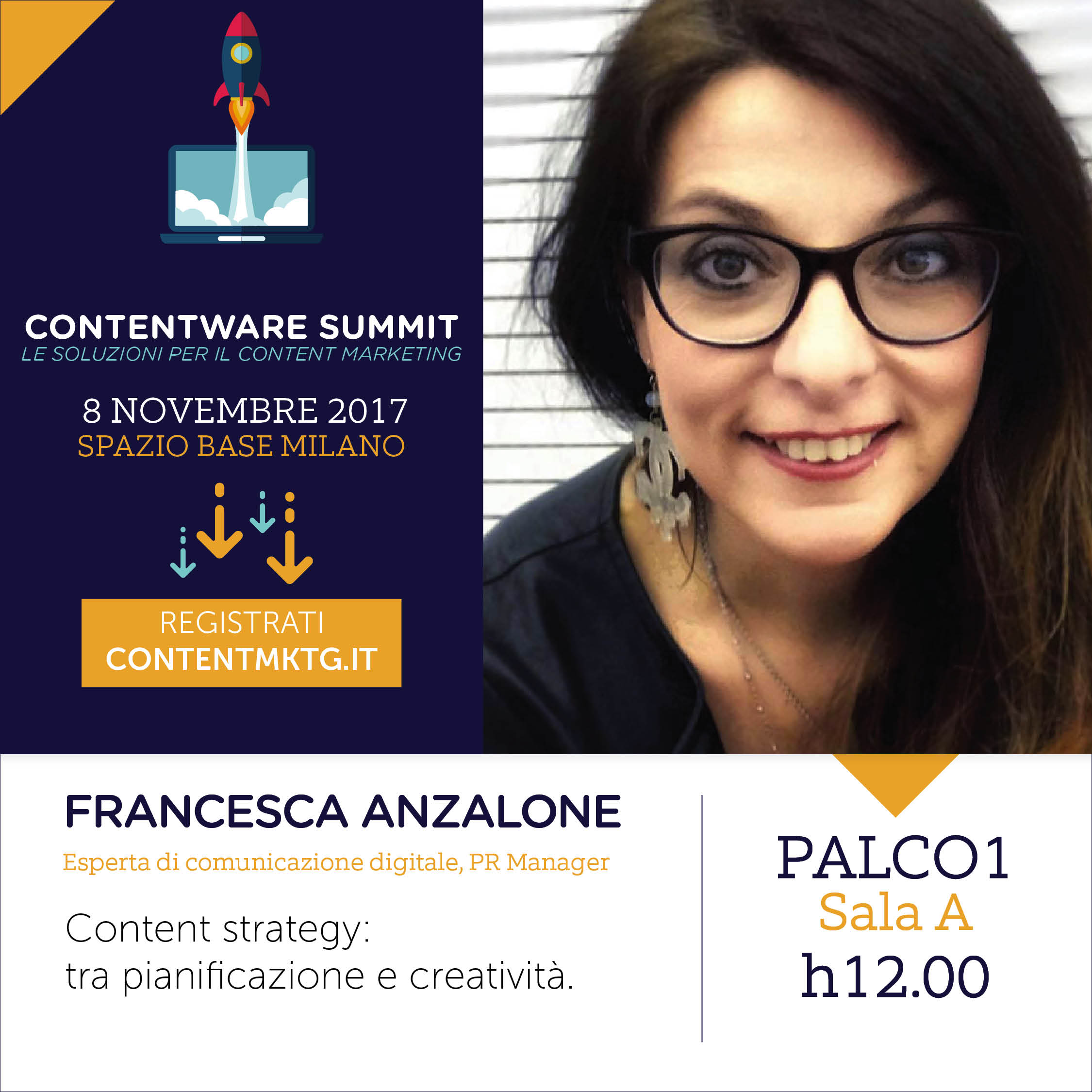 Contentare Summit 2017 - Francesca Anzalone, Digital PR