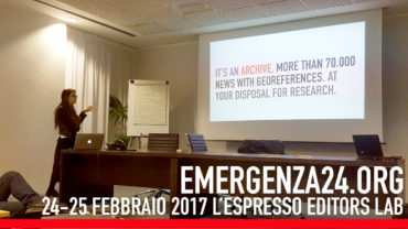 Francesca Anzalone, Digital PR l'espresso editors lab 2017