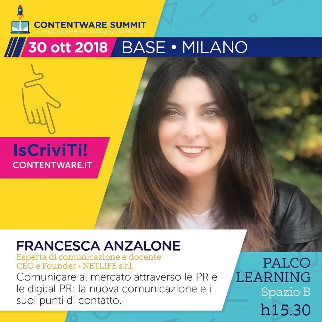 Francesca Anzalone: Contentware workshop Digital PR