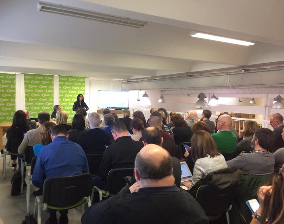 Francesca Anzalone, seminario Ordine dei Giornalisti del Veneto Ufficio stampa e digital PR