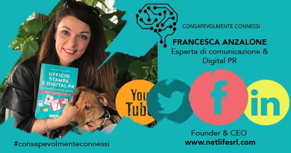 Francesca Anzalone Consapevolmente Connessi la comunicazione nell'era dei social network