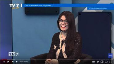 TV7 intervista a Francesca Anzalone parte prima