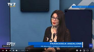 TV7 Intervista a Francesca Anzalone seconda parte