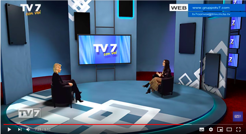 TV7 - intervista su Comunicazione Digitale