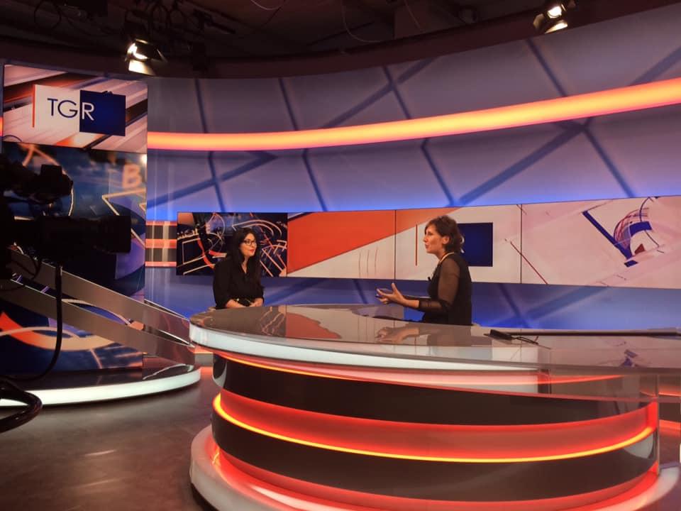 TGR RAI - Francesca Anzalone portavoce di Emergenza24