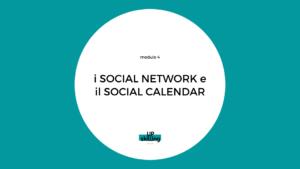 social media - piano editoriale corporate i social network e il social calendar