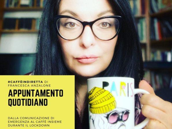 #caffèindiretta con Francesca Anzalone PR Manager
