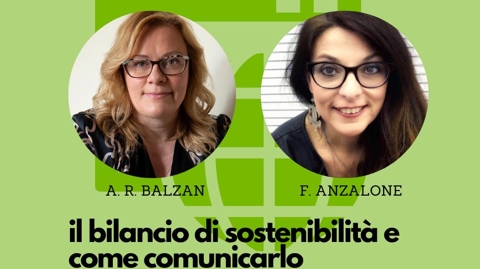 Il bilancio di sostenibilità e come comunicarlo - a cura di Ada Rosa Balzan e Francesca Anzalone per Netlifesrl