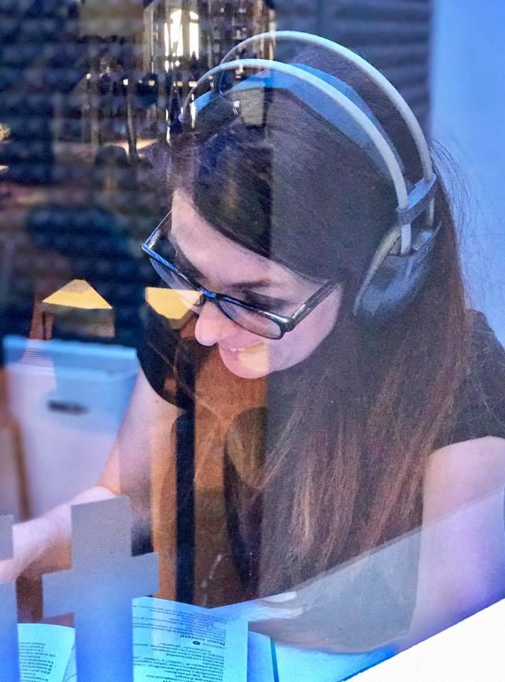 Francesca Anzalone ai microfoni di Radio Ca' Foscari