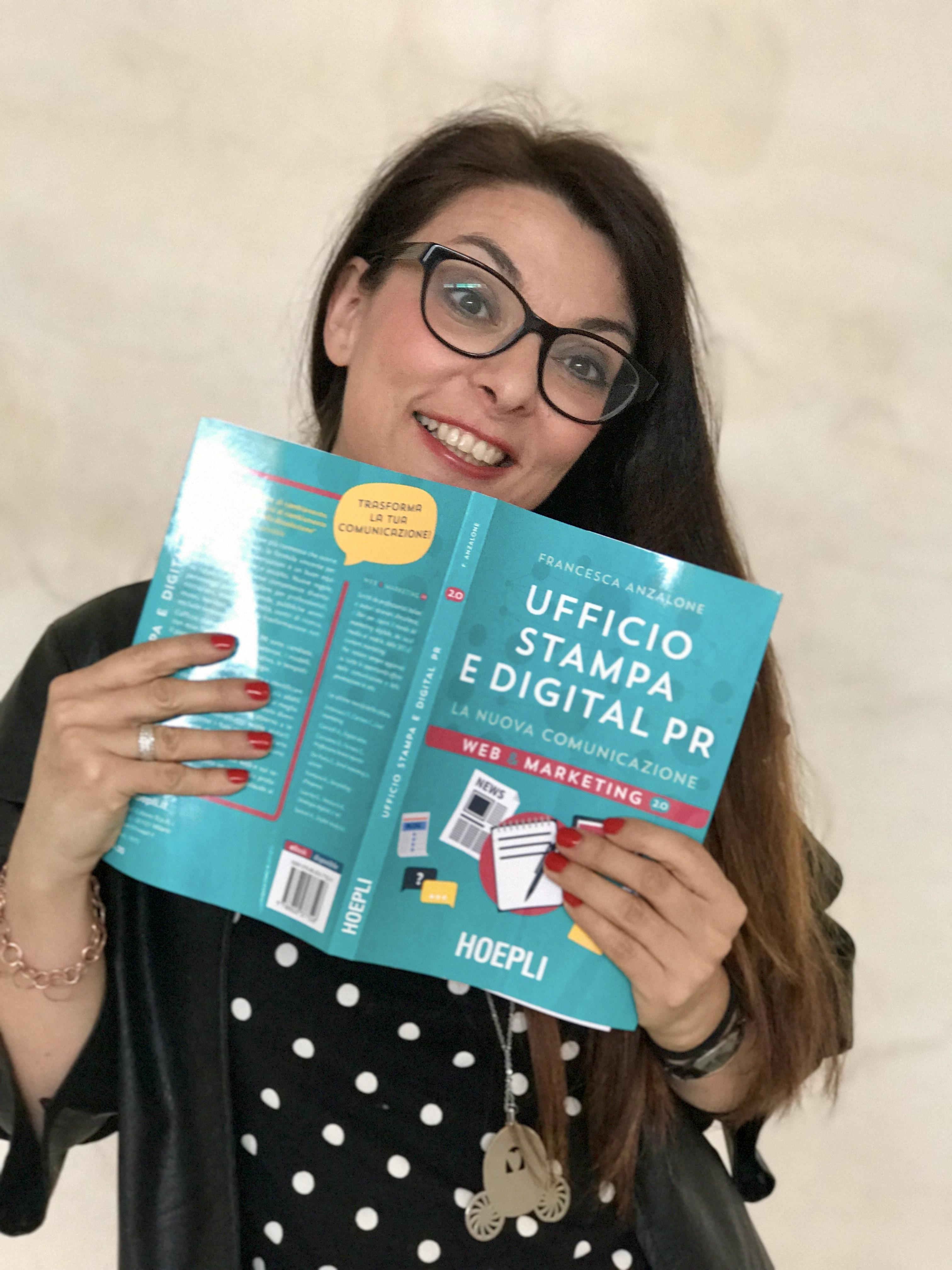 Francesca Anzalone, Digital PR - Ufficio stampa e Digital PR, quali le nuove professioni?