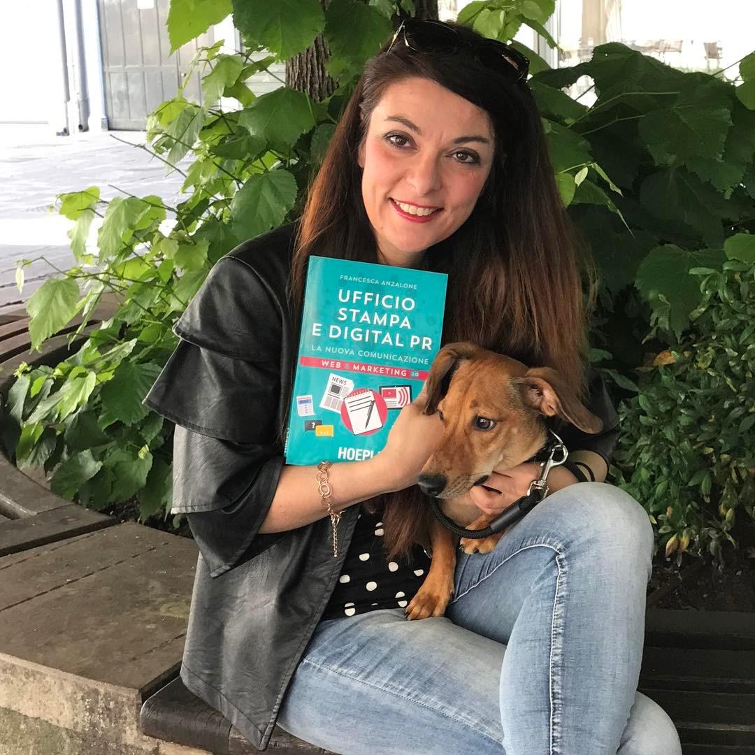 Francesca Anzalone, Digital PR e Uopi