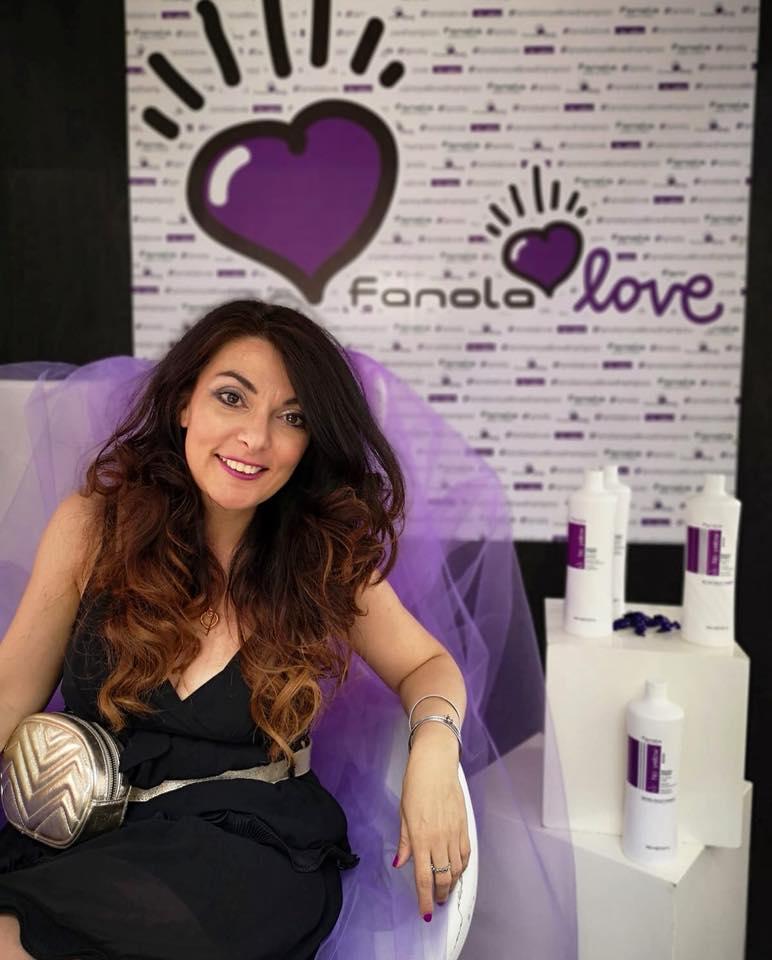 Francesca Anzalone, Digital PR - Fanola Love Digital Event