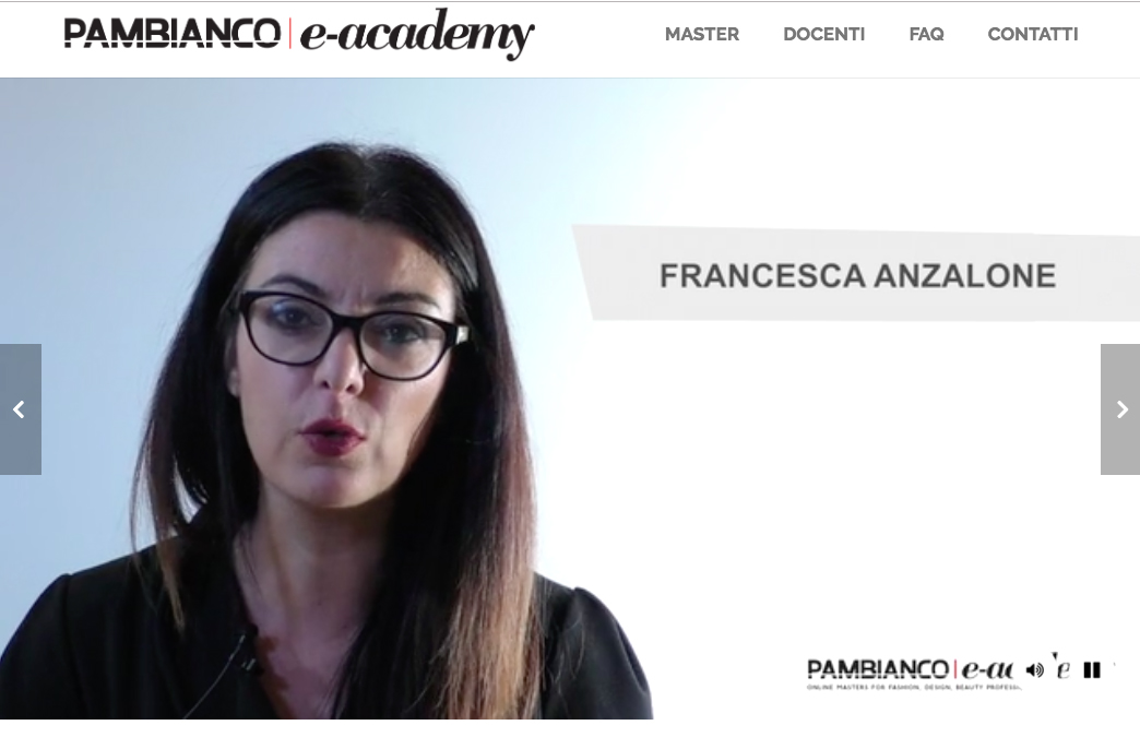 Francesca Anzalone Docente del Master PR e Digital PR Pambianco eAcademy