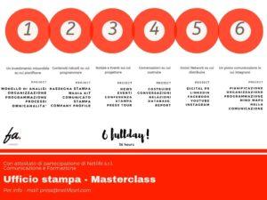 Ufficio stampa - Masterclass by Francesca Anzalone e Netlife s.r.l.