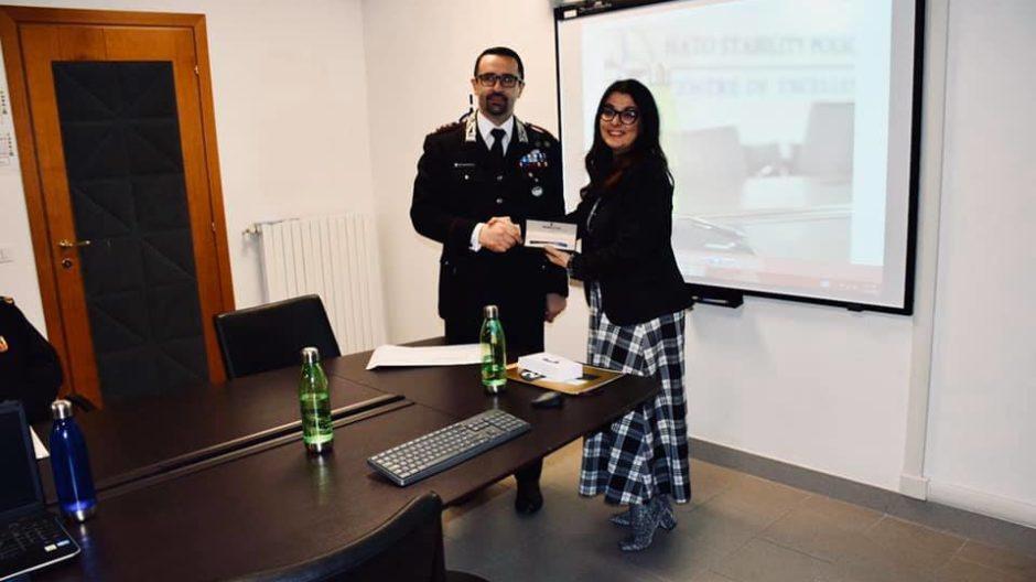 NATO Stability Policing Centre of Excellence - formazione sulla comunicazione digitale