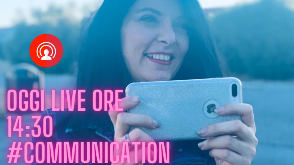 CommunicationLab laboratorio di Comunicazione Live su Instagram a cura di Francesca Anzalone