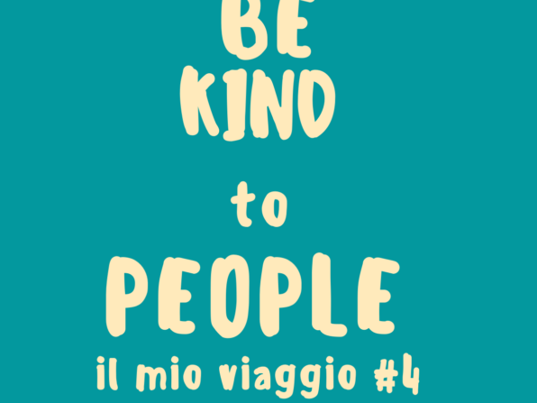 Be Kind to People - Social Activism di Francesca Anzalone