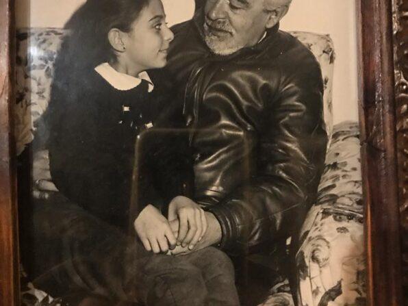Emozioni di latta, racconto breve -Francesca Anzalone con il suo papà