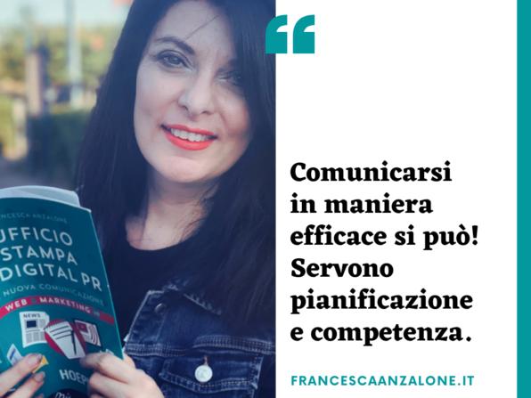 Comunicarsi in maniera efficace nel web - Francesca Anzalone